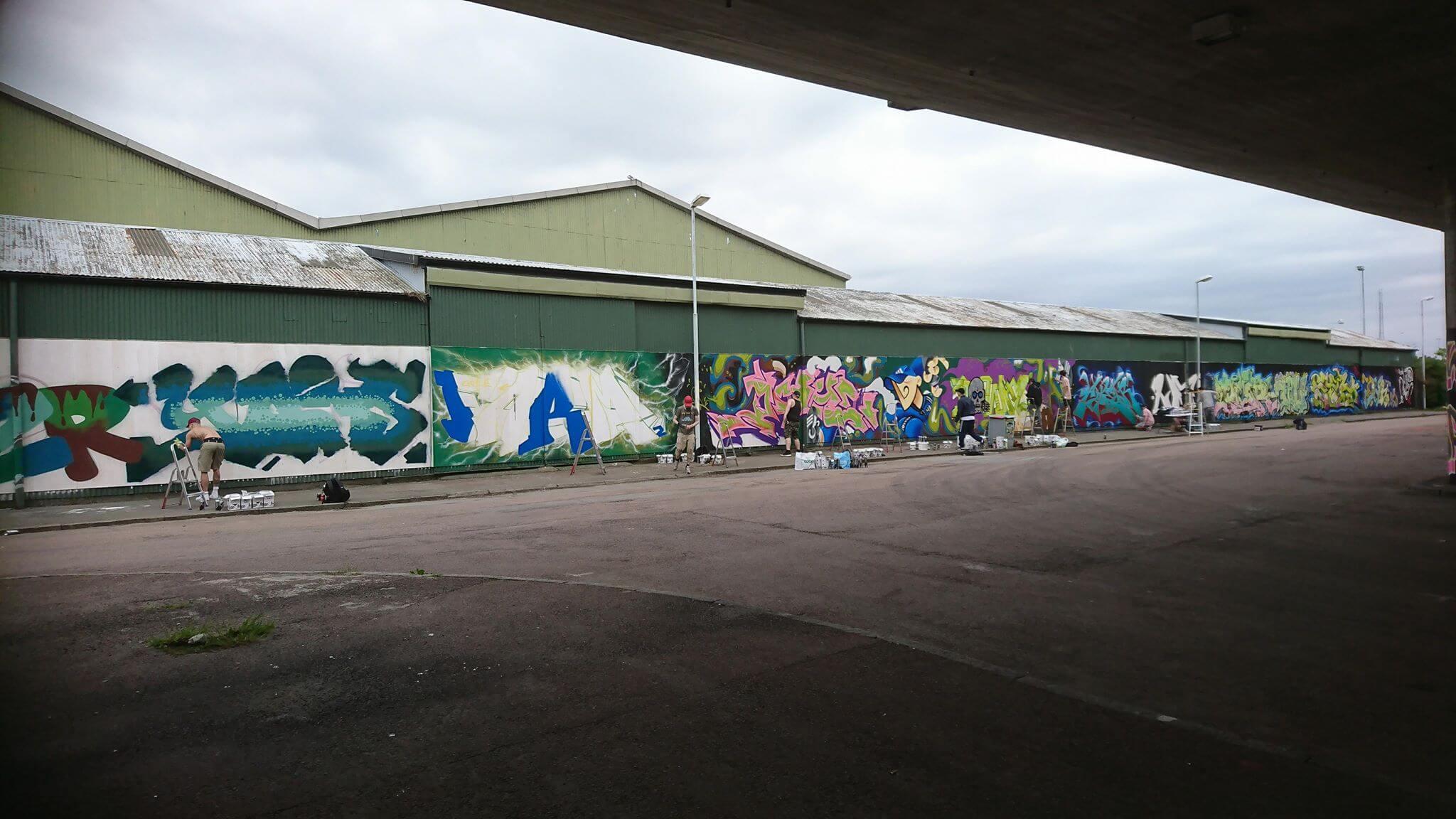Graffitifrämjandet – Vi tar konsten vidare  22761f33e6cbd